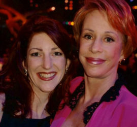 Maryellen Hooper and Carol Burnett